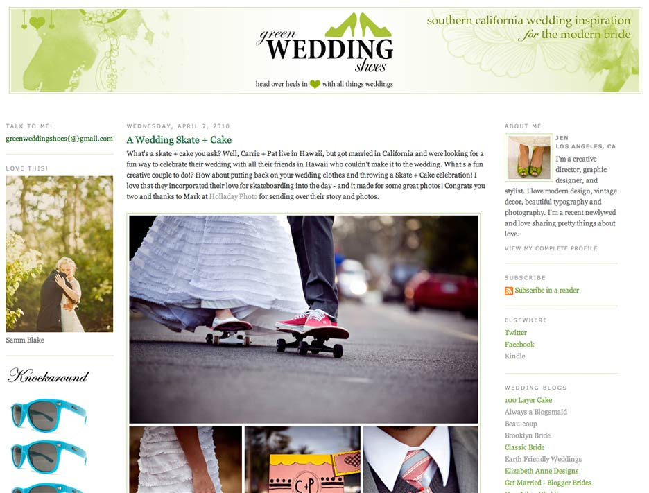 Green-Wedding-Shoes-skate-and-cake