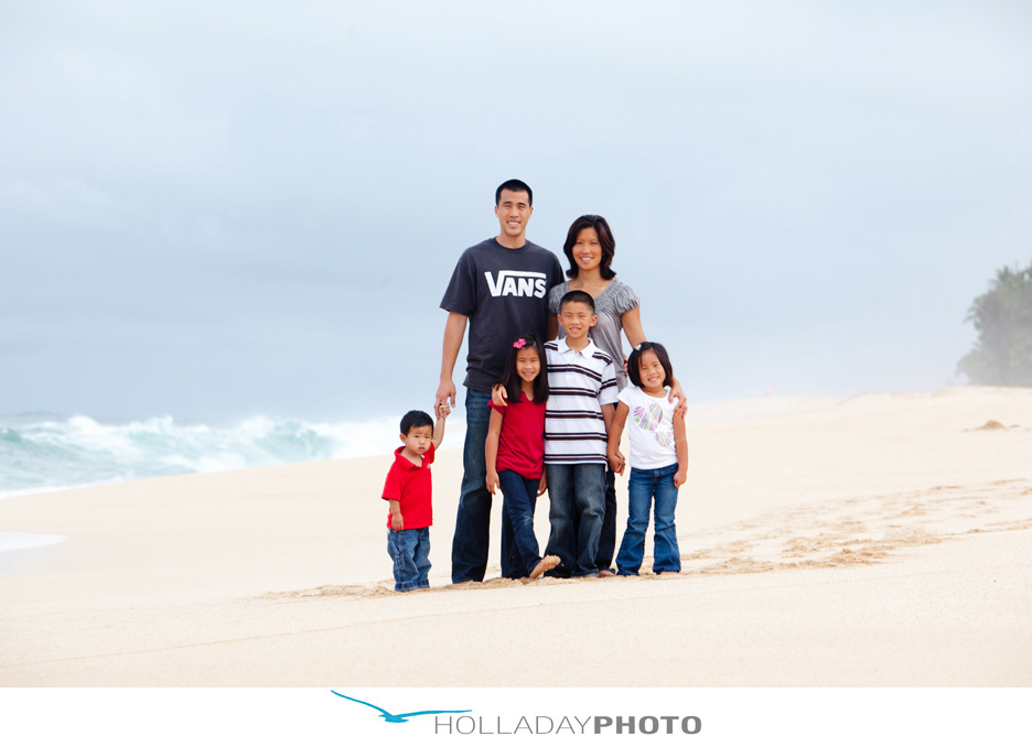 Family beach photography