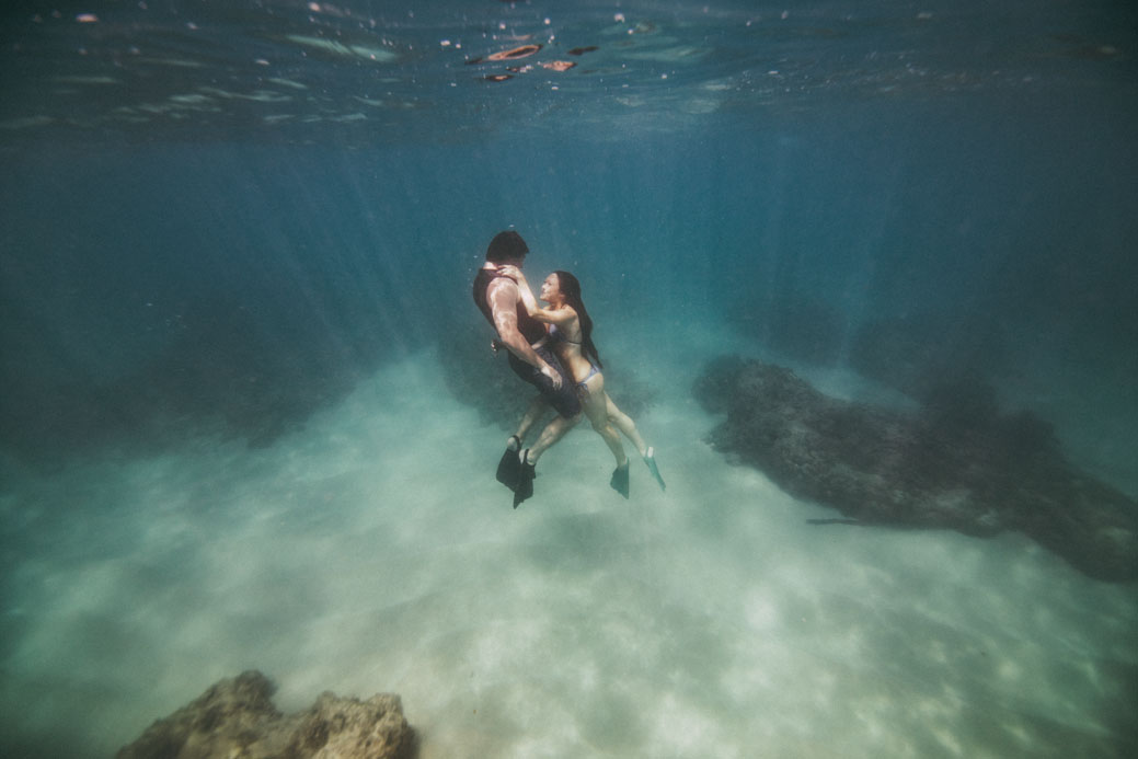 Hawaii underwater photography